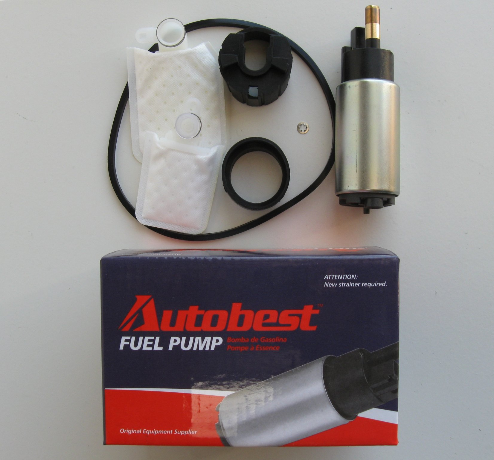 2000 Ford Contour Fuel Pump and Strainer Set A0 F1301