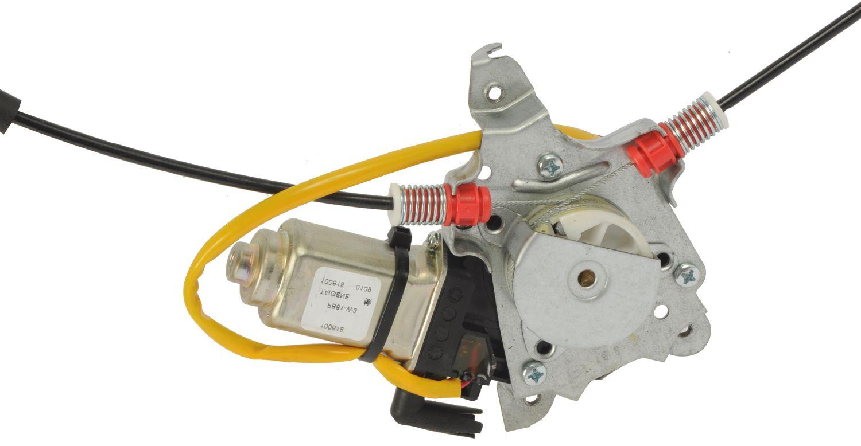2001 Nissan Xterra Power Window Motor And Regulator Assembly Overheating Problem A1 82 1363ar