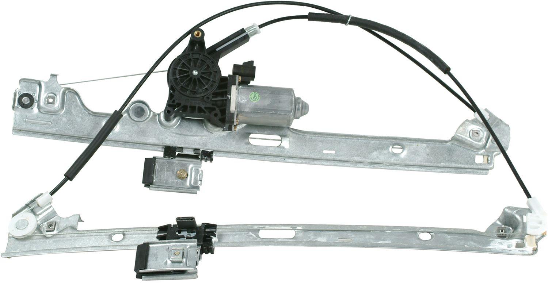 2004 Cadillac Escalade Power Window Motor And Regulator Assembly Trailer Wiring A1 82 179ar