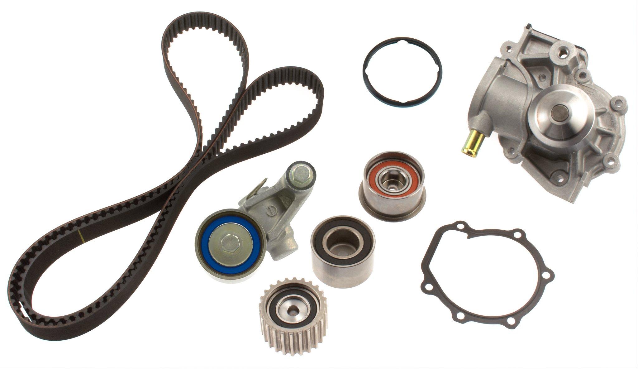 2005 Saab 9 2x Engine Timing Belt Kit With Water Pump A8 Tkf 001