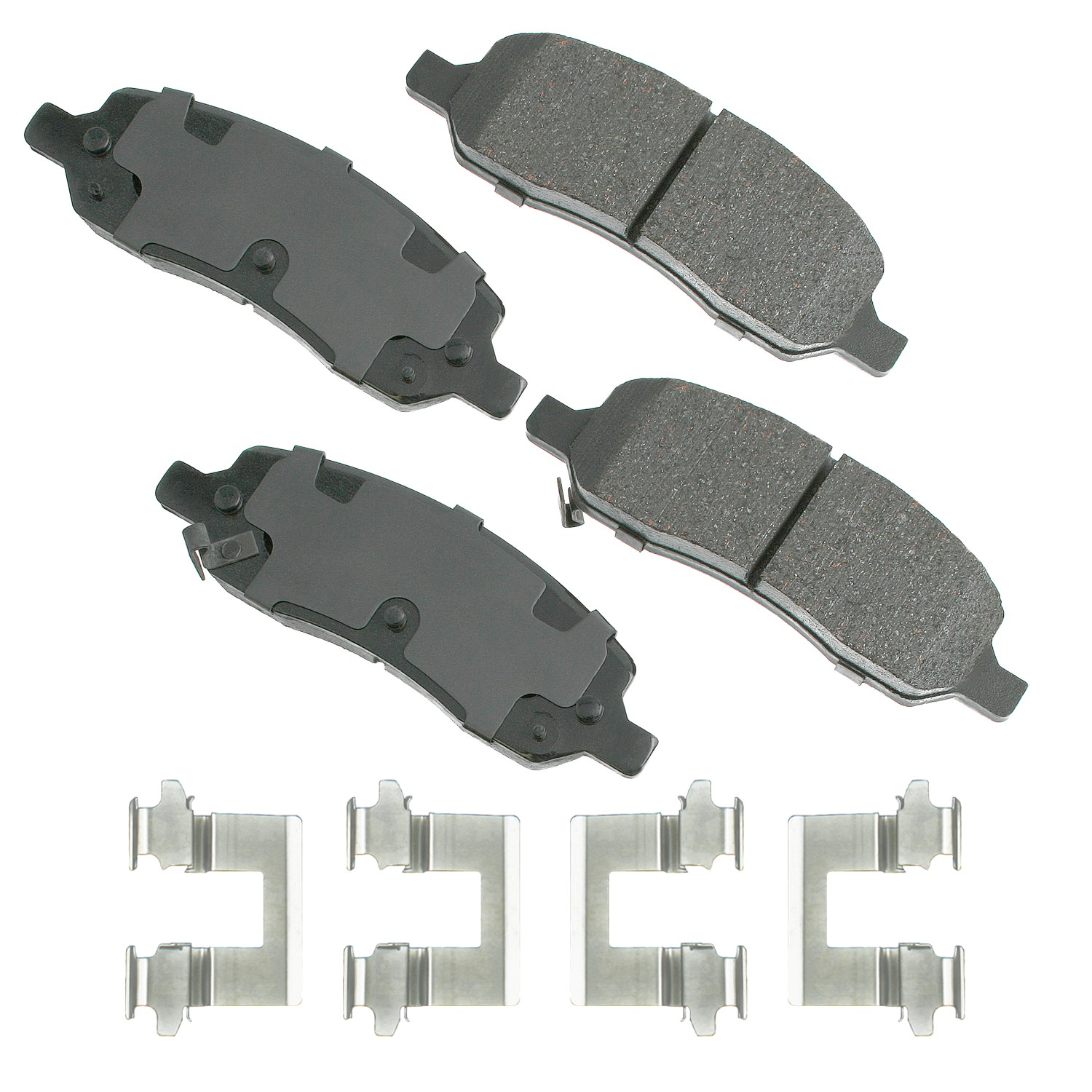 Disc Brake Pad Set-ProACT Ultra Premium Ceramic Pads Front Akebono ACT1159