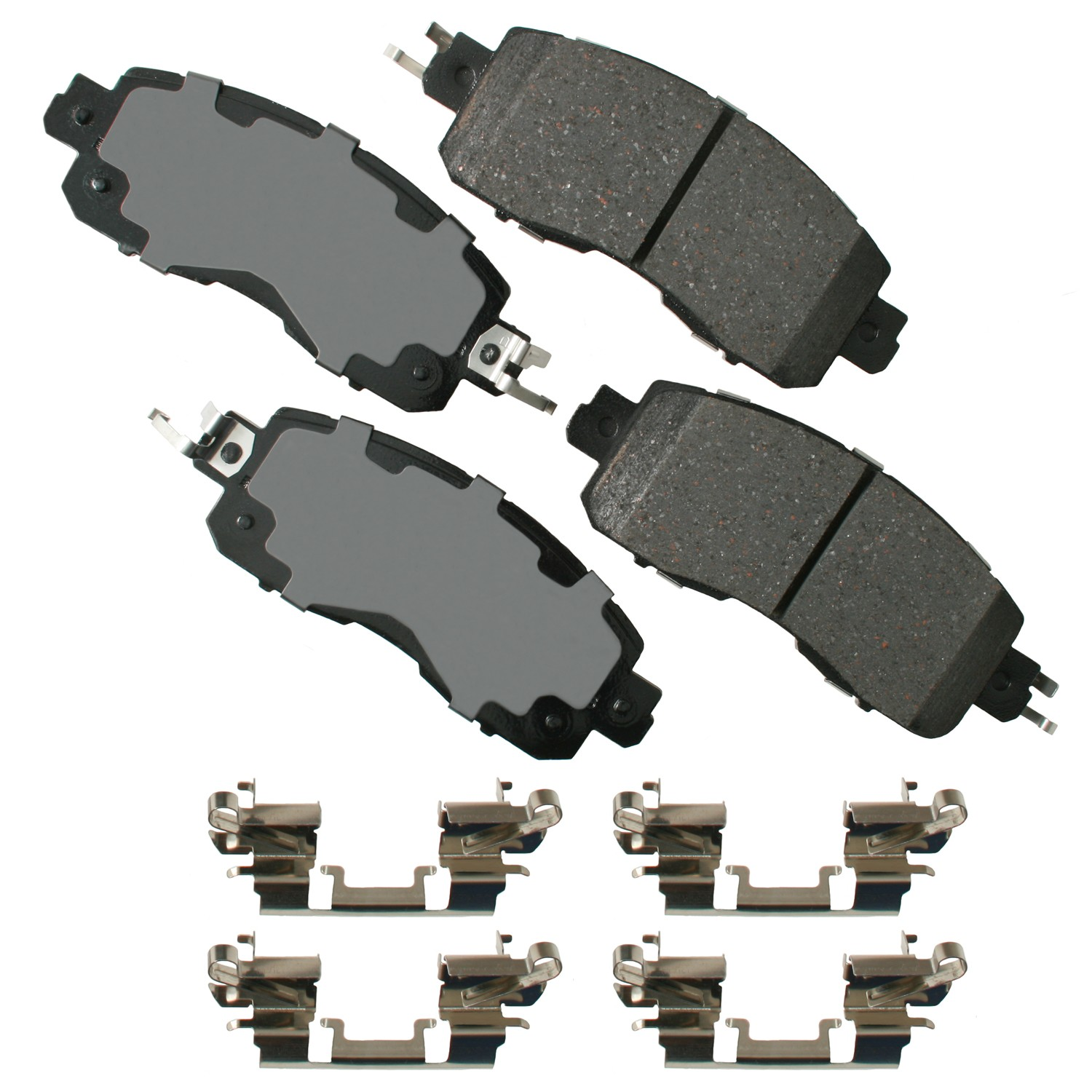 Disc Brake Pad Set-Sedan Front ADVICS AD1650