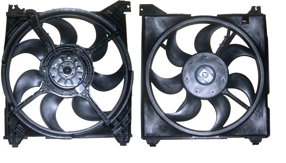 2005 Hyundai Santa Fe Cooling Fan Assembly
