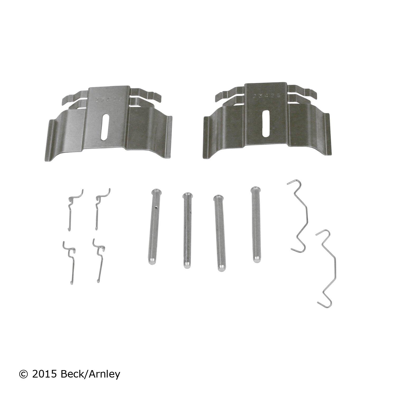Rear Wagner H13435 Disc Brake Hardware Kit