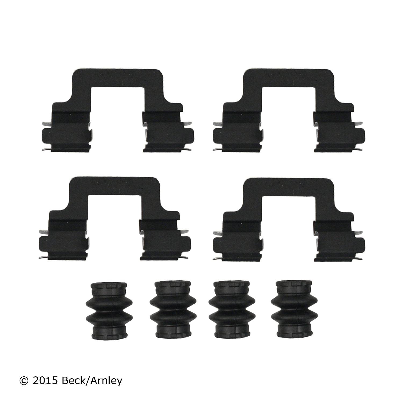 Inc 117.34016 Frt Disc Brake Hardware Kit Centric Parts