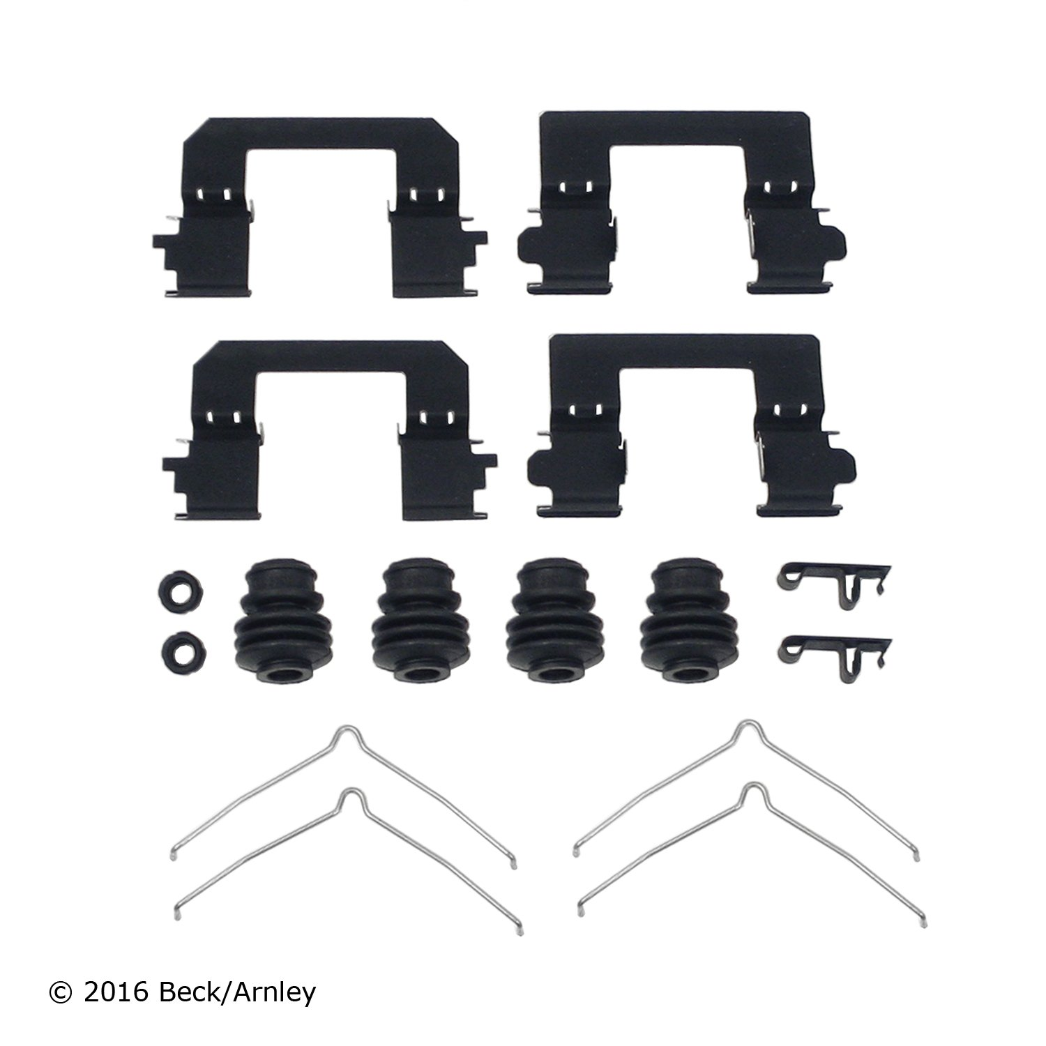 Carlson 13399Q Rear Disc Brake Hardware Kit