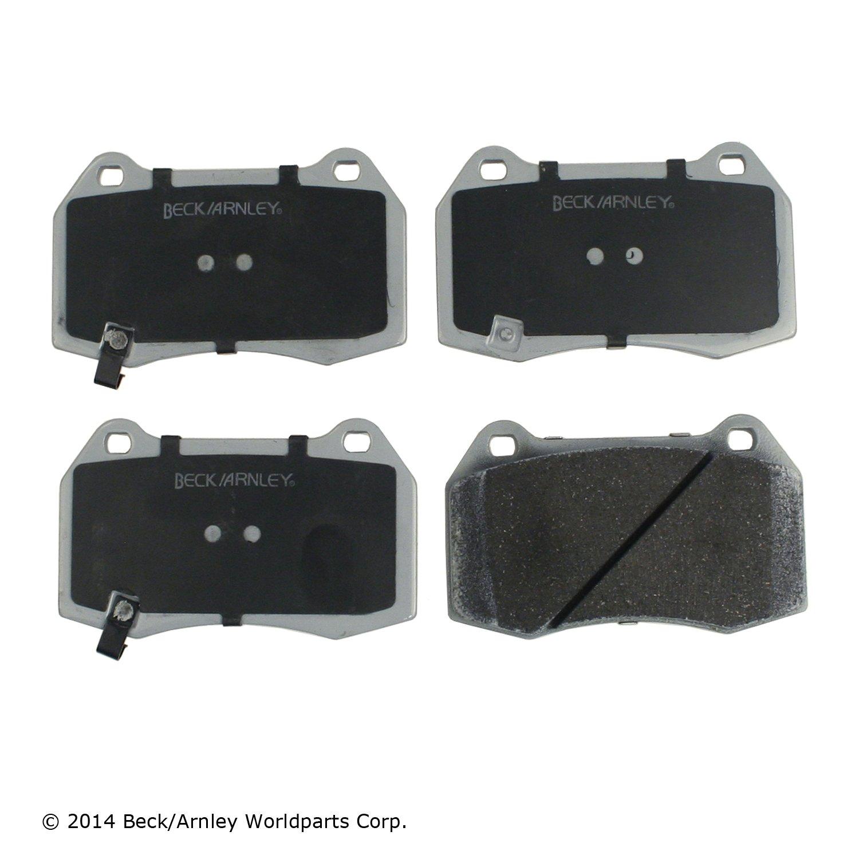 Disc Brake Pad Set-SE-R Front Bendix MRD430