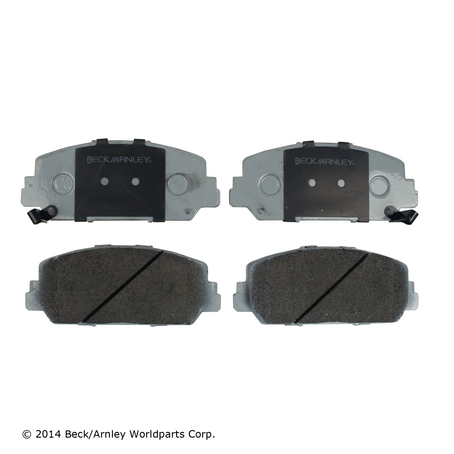 Bendix Premium Copper Free CFC1625 Front Disc Brake Pad Set For Acura ILX Models