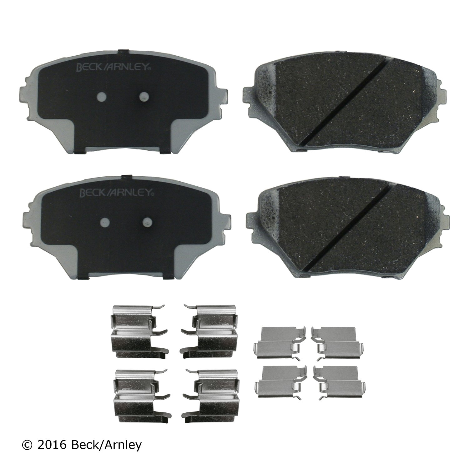 2001 Toyota Rav4 Disc Brake Pad And Hardware Kit Ba 085 6696