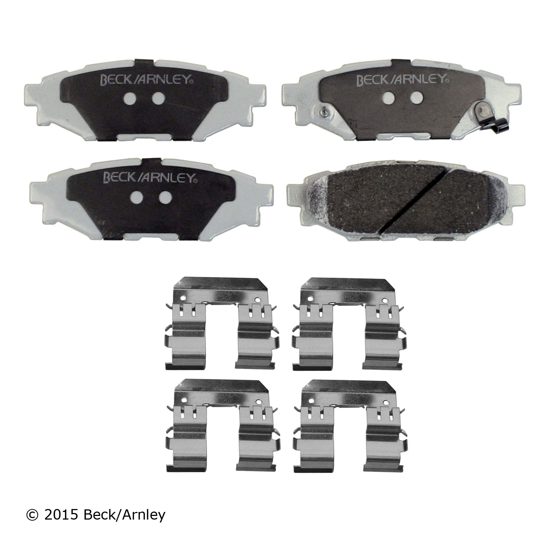 17-1539 Power Stop Z17 Evolution Plus Brake Pads Front