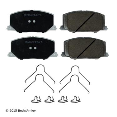 1991 Toyota Camry Disc Brake Pad and Hardware Kit BA 085-6334