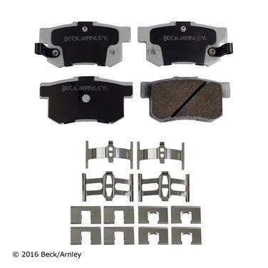 1995 Honda Accord Disc Brake Pad and Hardware Kit BA 085-6467