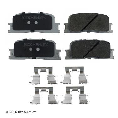 2005 Toyota Camry Disc Brake Pad and Hardware Kit BA 085-6659
