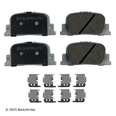 2000 Toyota Camry Disc Brake Pad and Hardware Kit BA 085-6670