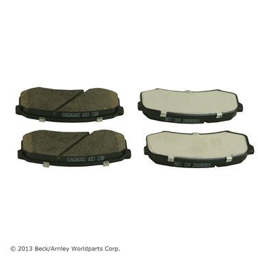 Beck Arnley 085-1618 Premium ASM Brake Pad