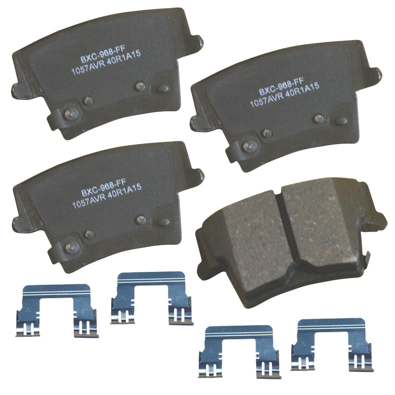 Disc Brake Pad Set-Stop Ceramic Brake Pad Front Bendix SBC1058