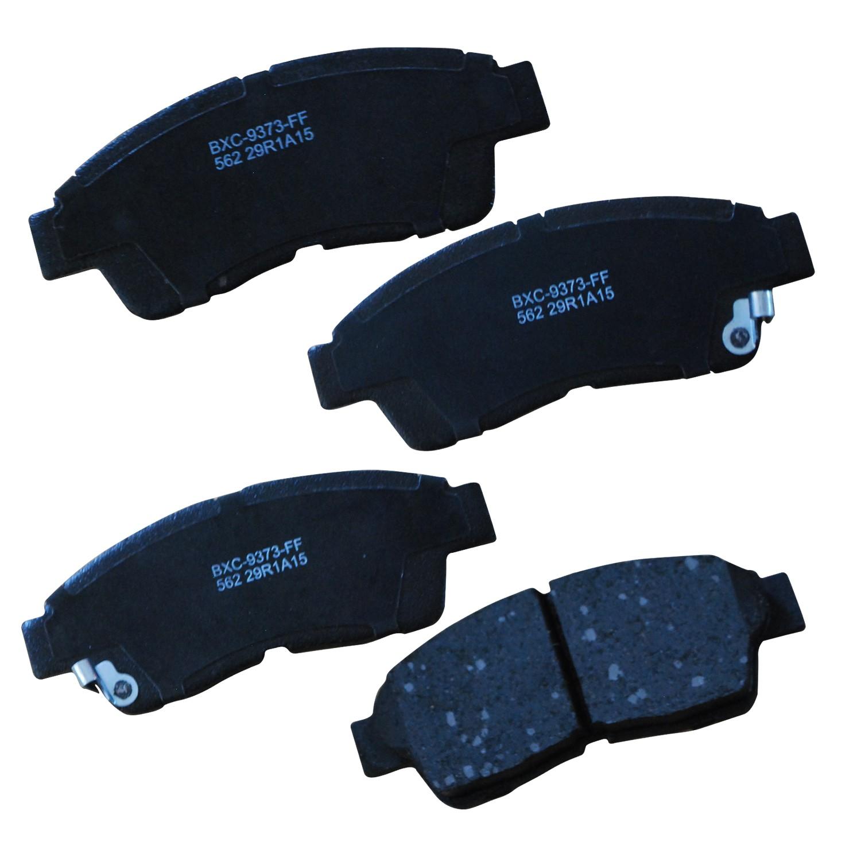 Bendix Premium Copper Free CFC325 Premium Copper Free Ceramic Brake Pad with Installation Hardware Rear