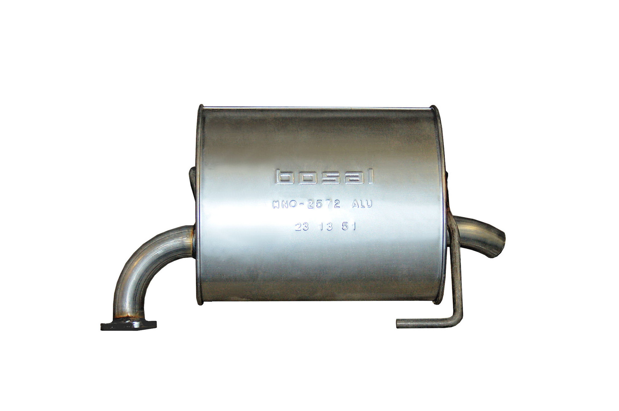 Exhaust Muffler-Direct-Fit Assembly Rear Right Bosal 229-035
