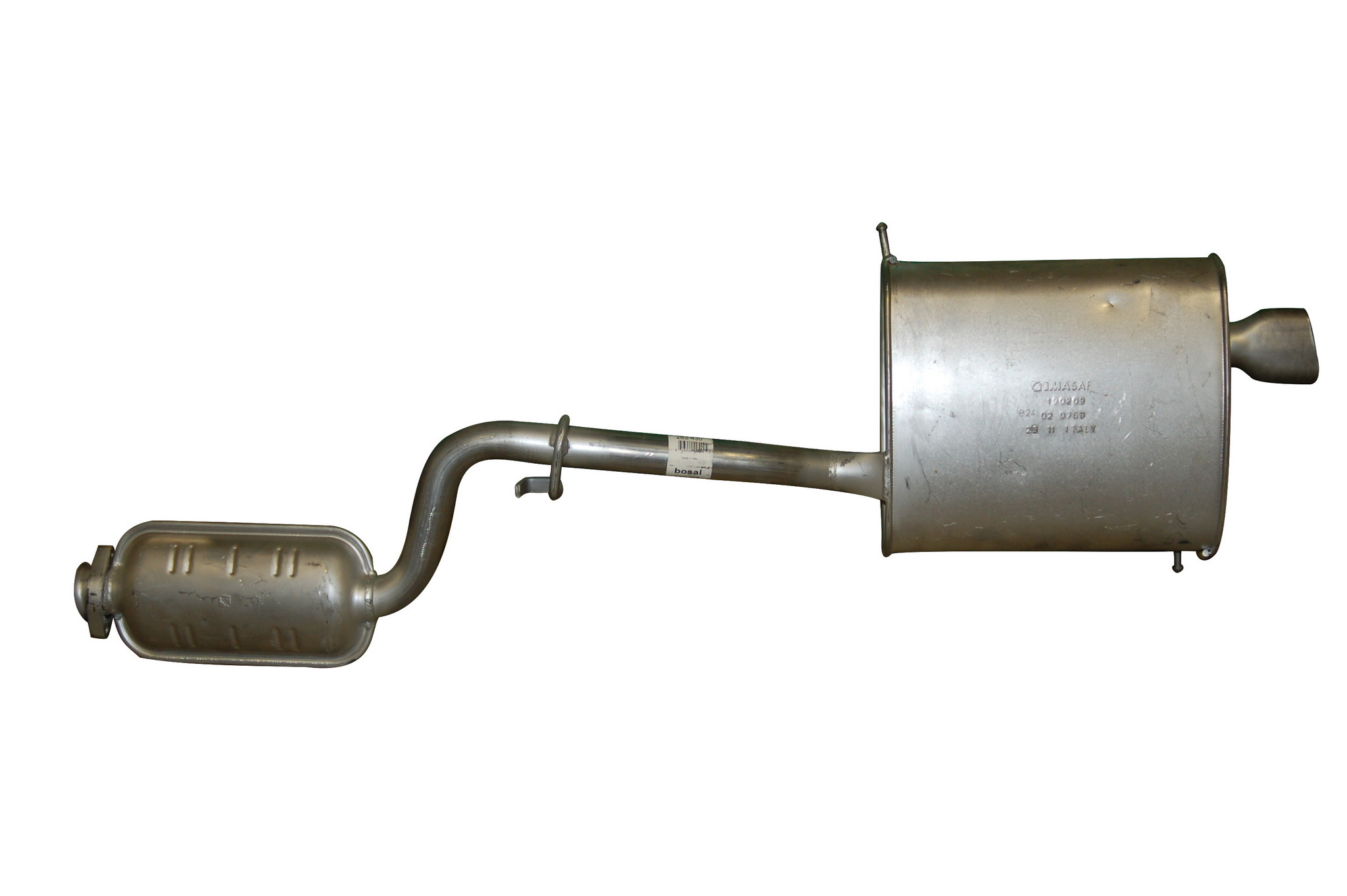 1997 Bmw Z3 Exhaust Muffler Assembly Autopartskart Com