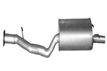 1997 Honda Accord Exhaust Muffler Assembly BO VFM-1764