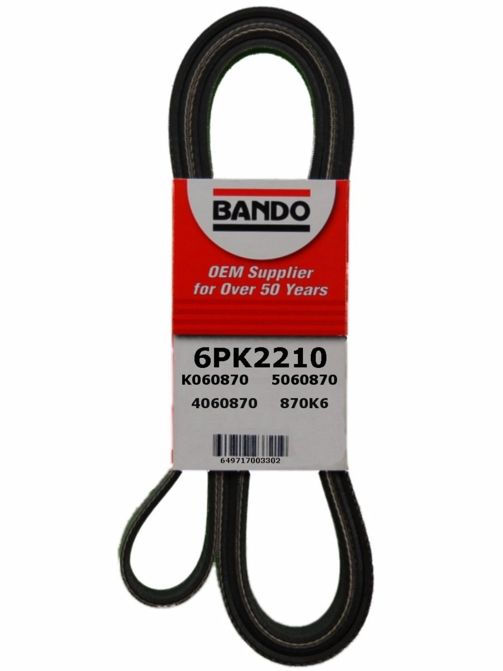 NAPA AUTOMOTIVE 25-060874 Replacement Belt