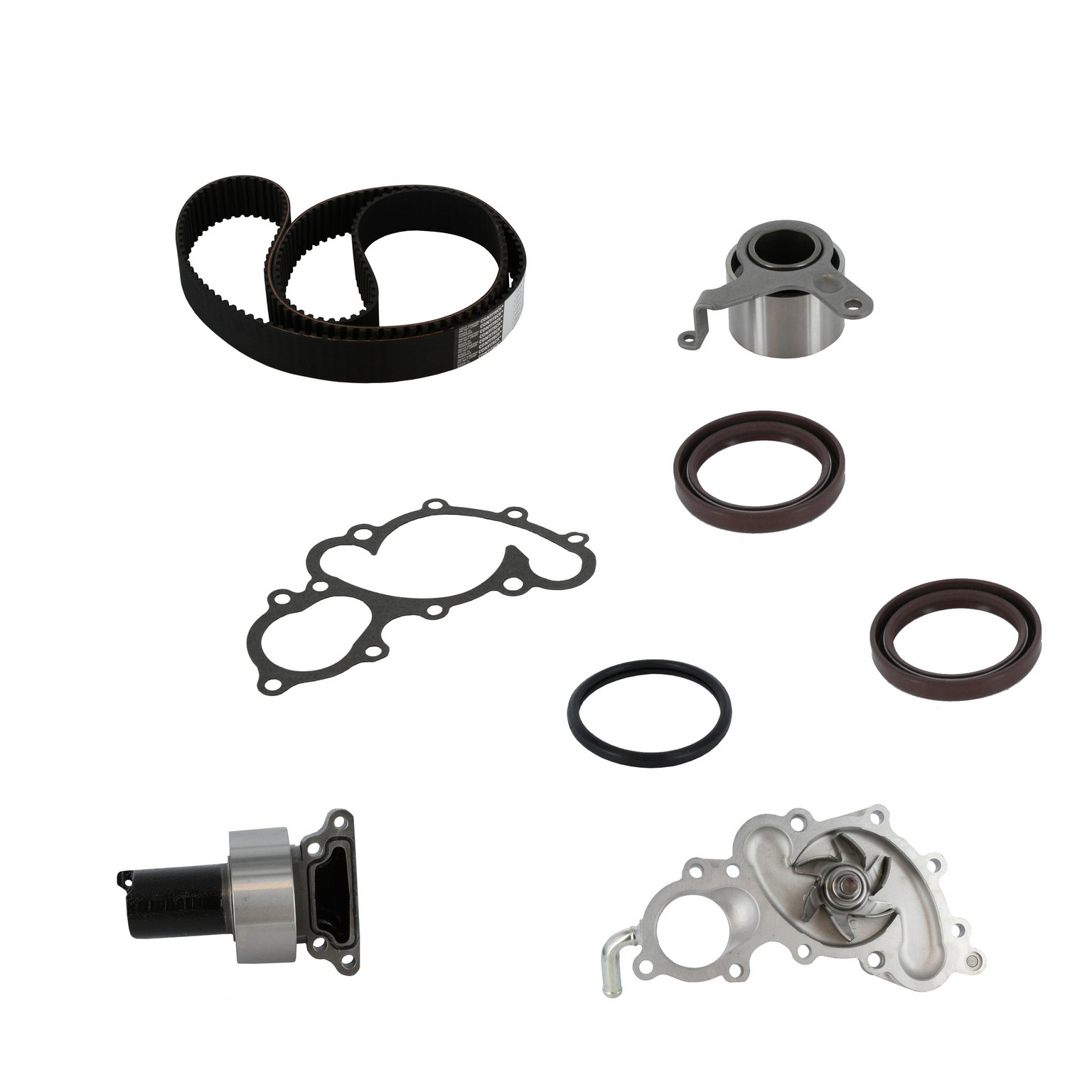 1990 Toyota 4runner Engine Timing Belt Kit With Water Pump For C8 Pp154lk1