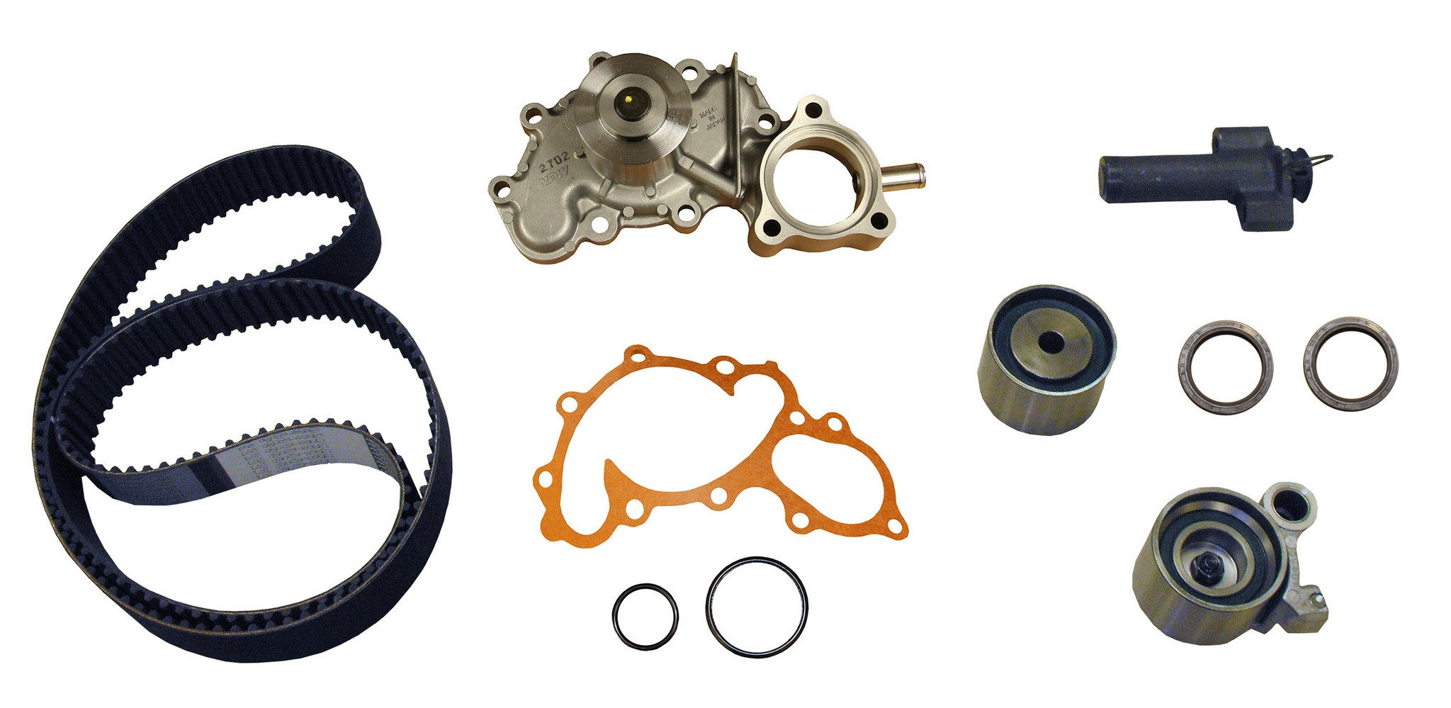 2001 Toyota 4runner Engine Timing Belt Kit With Water Pump For C8 Pp271lk1