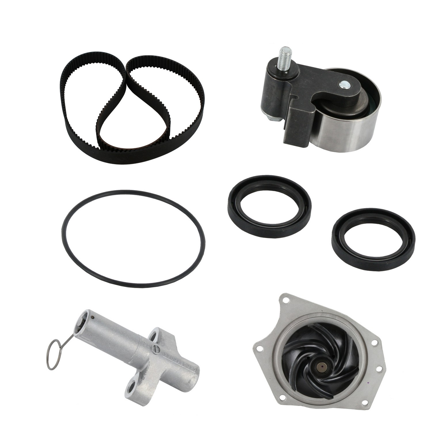 Dayco WP295K2A Engine Timing Belt Kit+Water Pump 12 Month 12,000 Mile Warranty