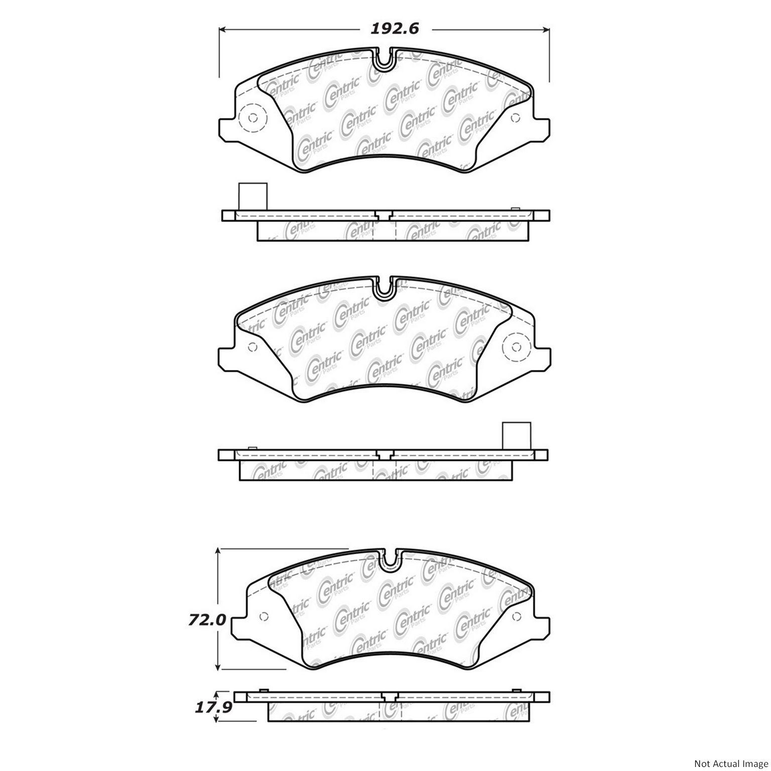 2013 Land Rover Lr4 Disc Brake Pad Set Brakes Diagram Ce 10214790
