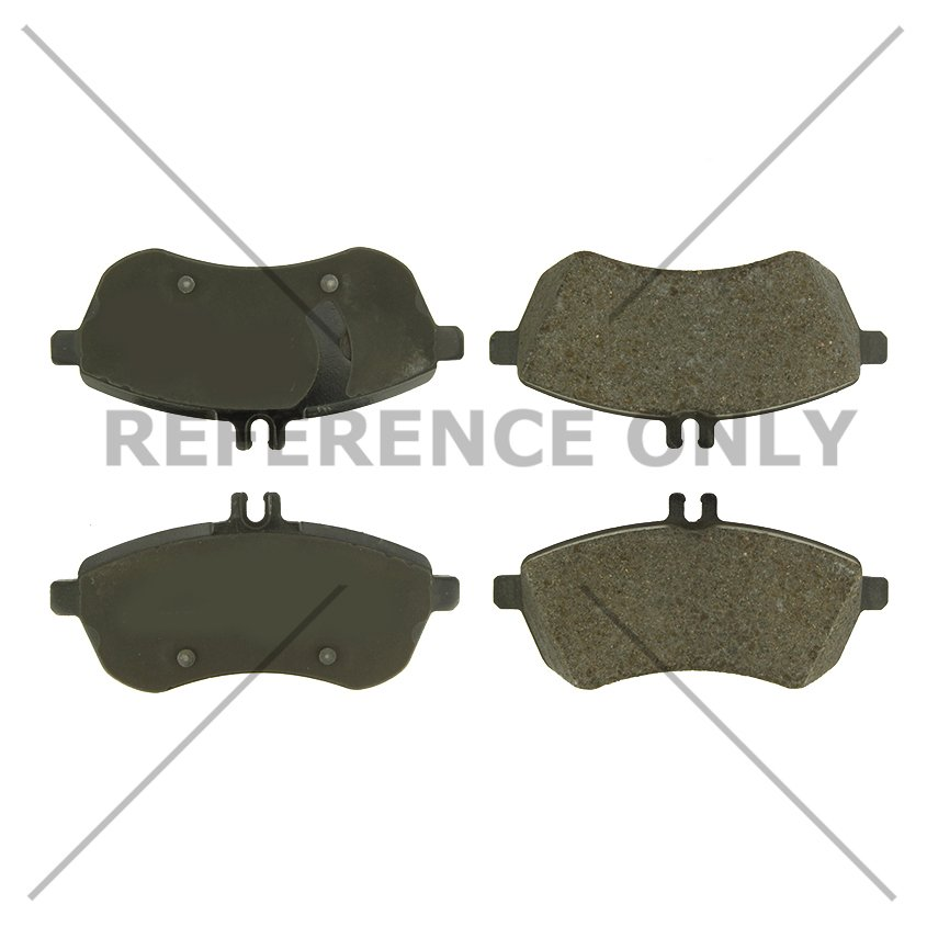 Disc Brake Pad Set-C-TEK Metallic Brake Pads Rear Centric 102.13410