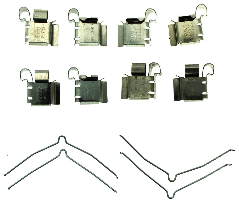 Disc Brake Hardware Kit Front Carlson 13324