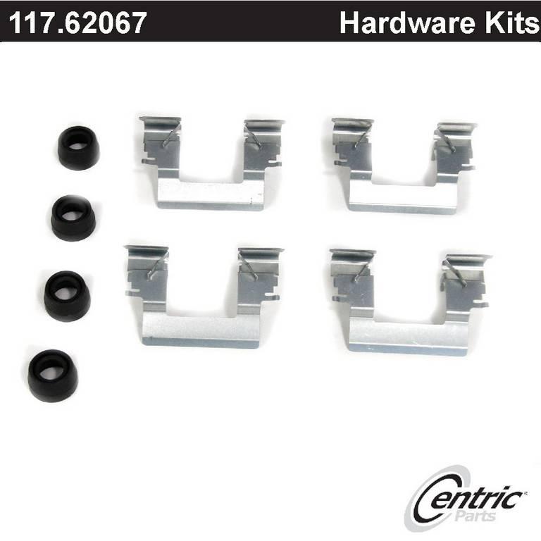 Disc Brake Hardware Kit Rear Carlson H5832Q