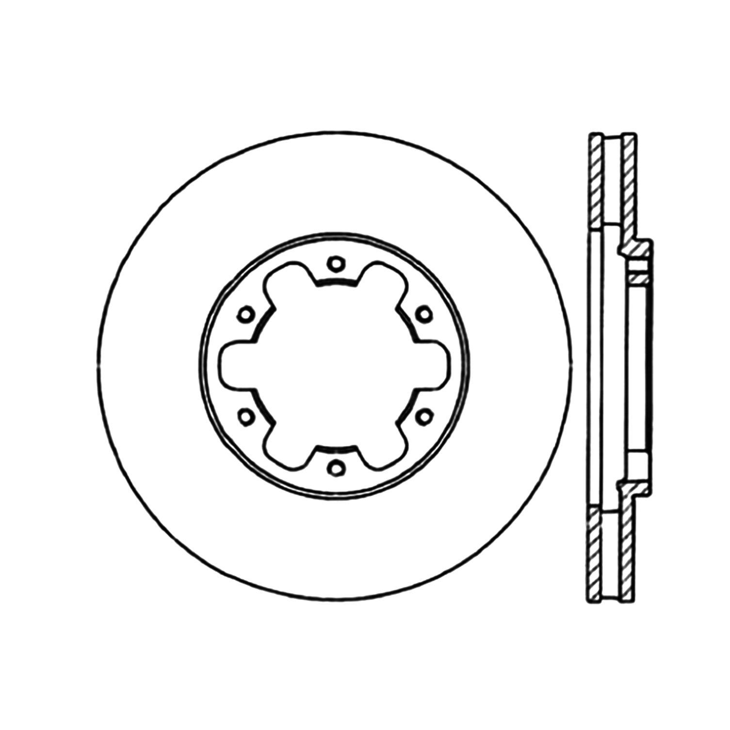 2004 nissan frontier disc brake rotor autopartskart Nissan Pickup 2004 nissan frontier disc brake rotor ce 120 42063