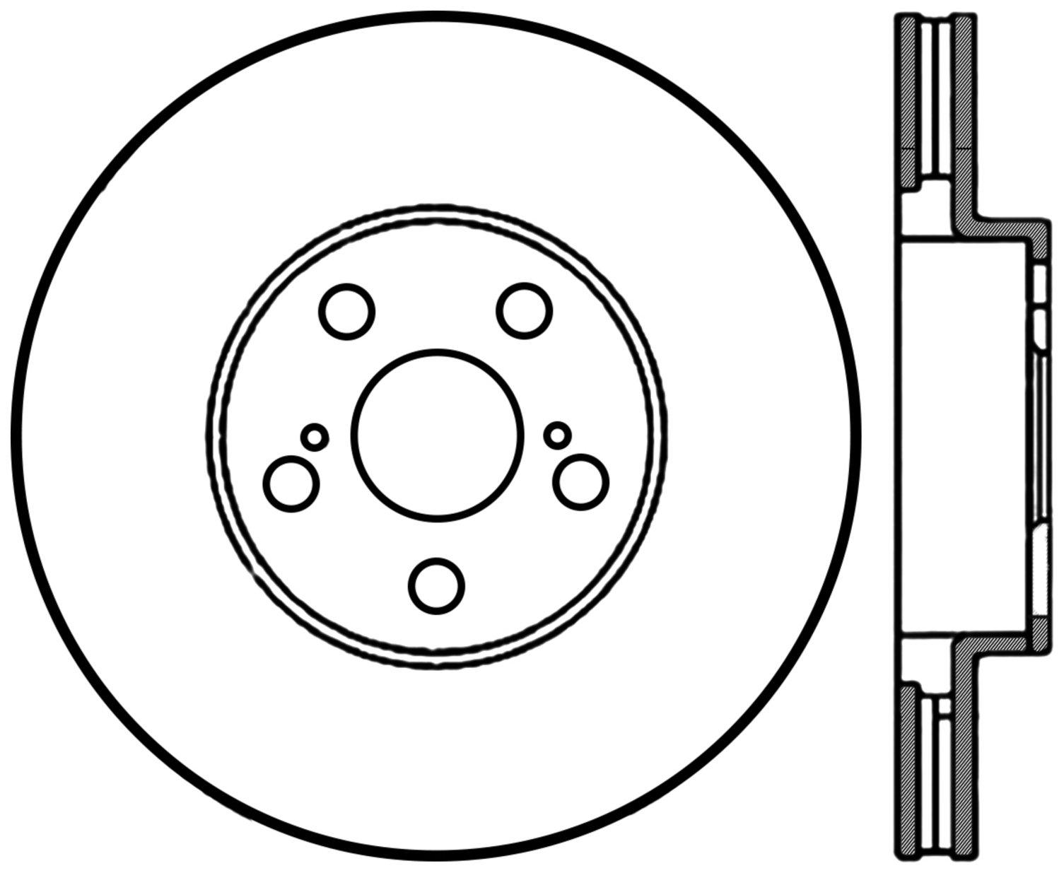 2007 Pontiac Vibe Disc Brake Rotor Wave Wiring Diagram Ce 12044114cry