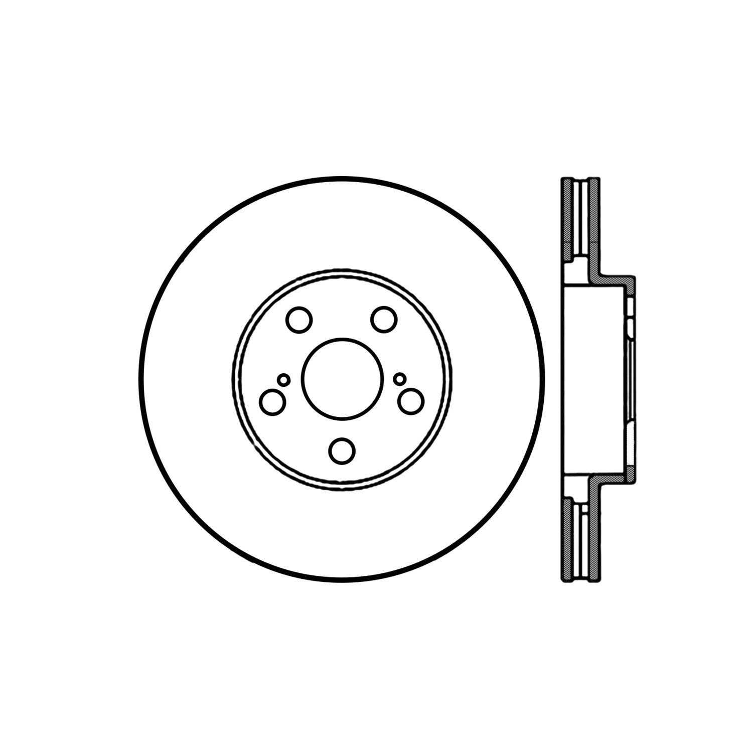 2007 Pontiac Vibe Disc Brake Rotor Wave Wiring Diagram Ce 12044114
