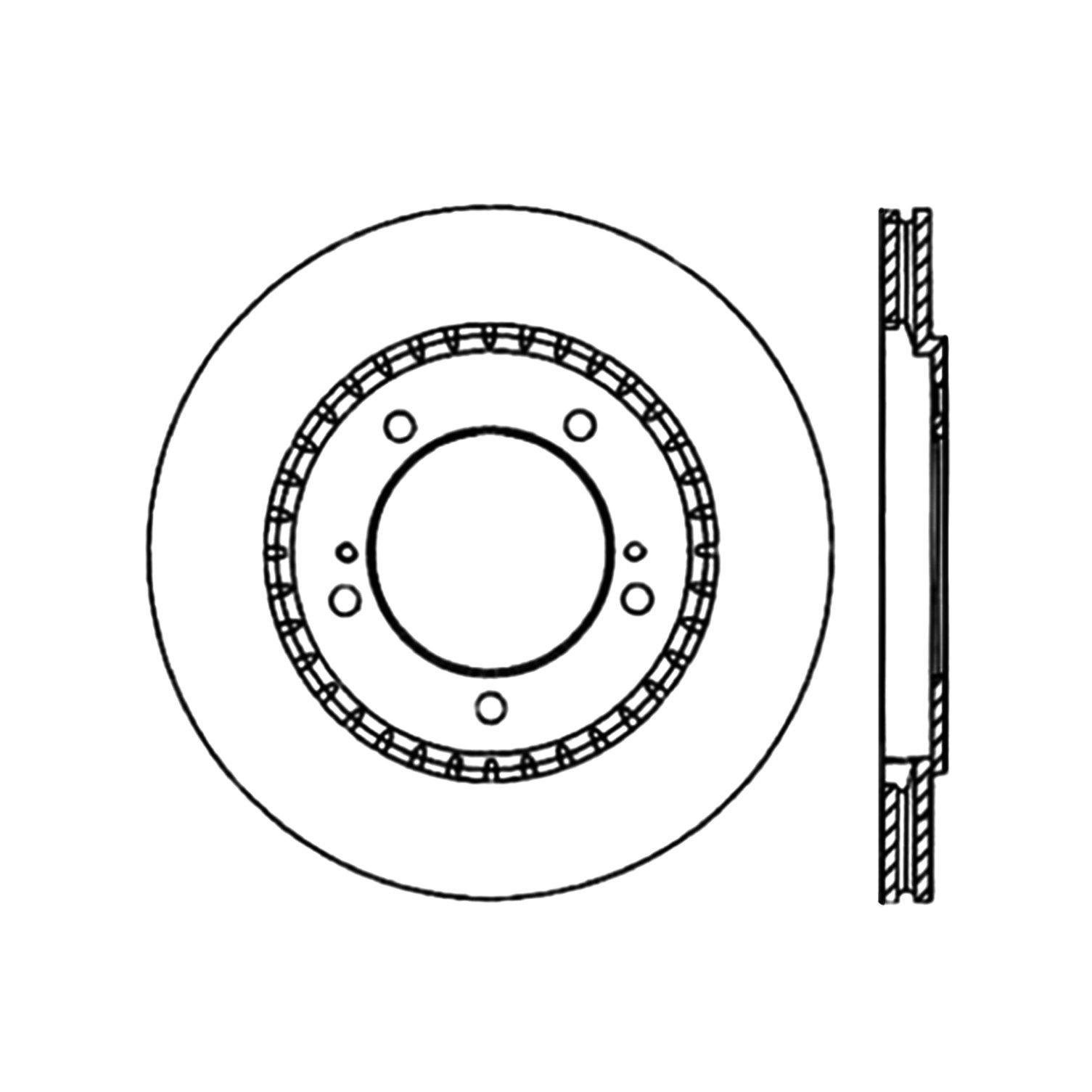 2003 suzuki grand vitara disc brake rotor autopartskart 1994 Buick Century Rear Drum Brakes 2003 suzuki grand vitara disc brake rotor ce 120 48008