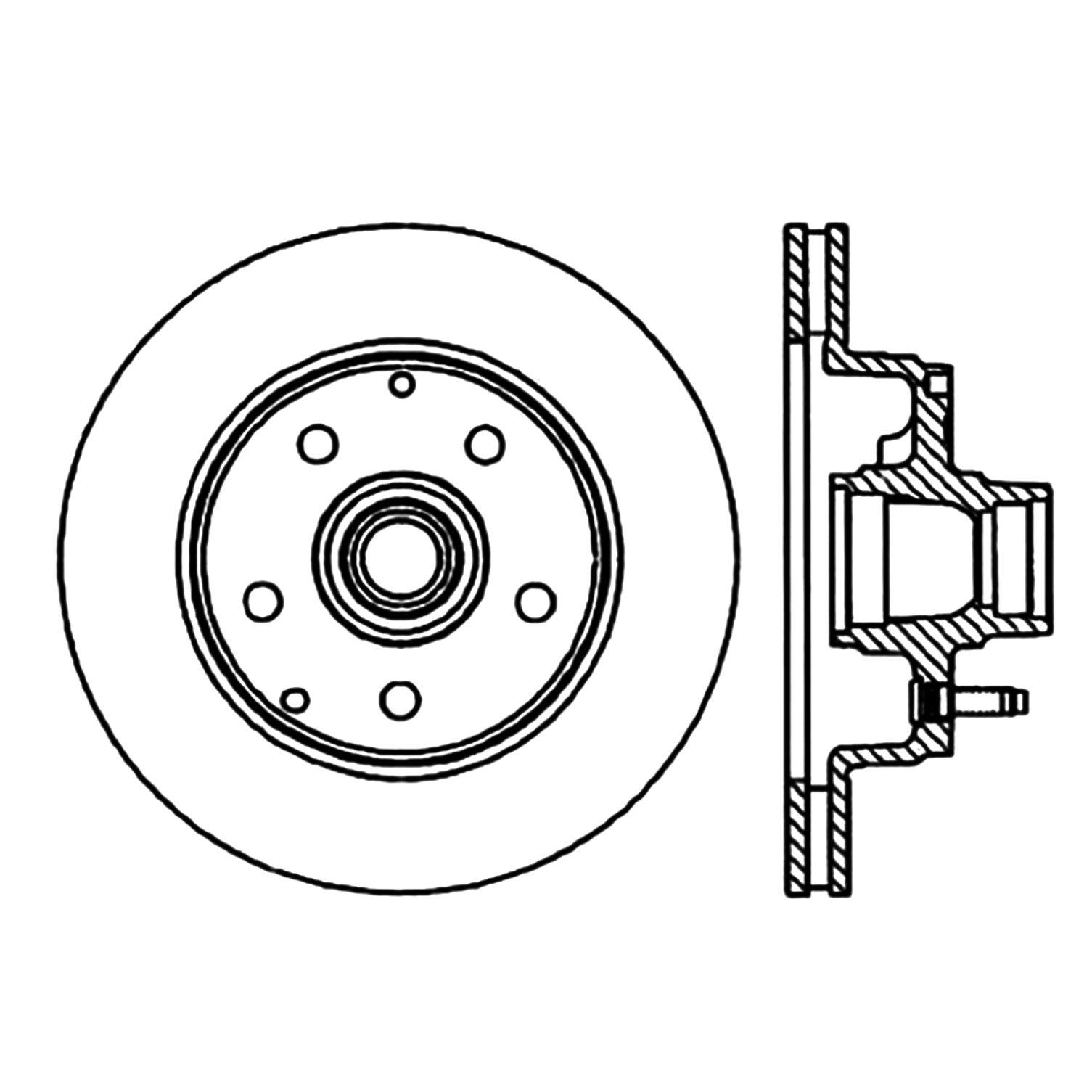 2002 chevrolet astro disc brake rotor autopartskart Chevy Rear Drum Brake Diagram 2002 chevrolet astro disc brake rotor ce 120 66016