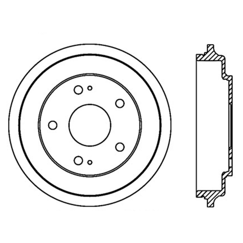 2006 honda civic brake drum autopartskart Aluminum Brake Drums for GM Cars 2006 honda civic brake drum ce 122 40017