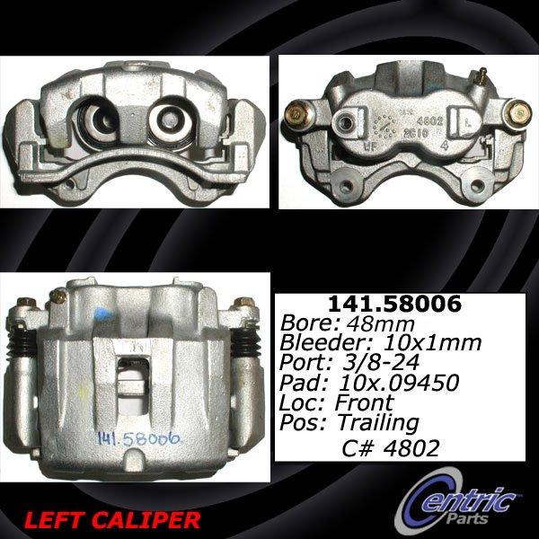 Centric Parts 141.58006 Semi Loaded Friction Caliper