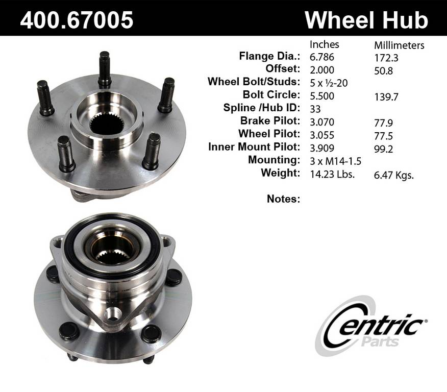 1998 Dodge Ram 1500 Axle Bearing and Hub Assembly | AutoPartsKart com