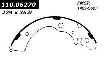 1995 Honda Accord Drum Brake Shoe CE 111.06270