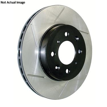 Pair Set of 2 Front C-Tek Brake Disc Rotors For Ford E-350 Econoline 2-Wheel ABS
