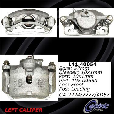 1995 Honda Accord Disc Brake Caliper CE 141.40054