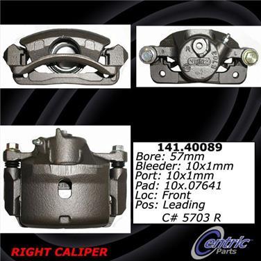 2000 Honda Accord Disc Brake Caliper CE 141.40089