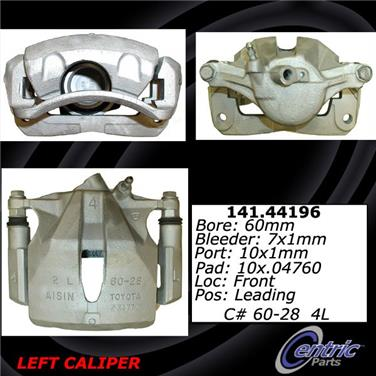 2001 Toyota Camry Disc Brake Caliper CE 141.44196