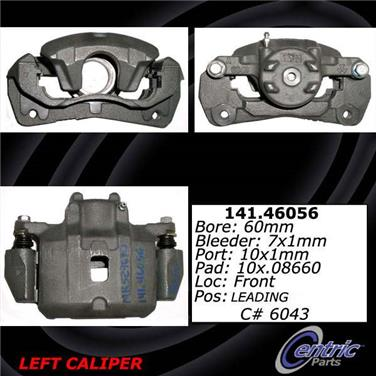 2001 Mitsubishi Eclipse Disc Brake Caliper CE 141.46055