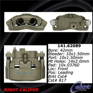 1991 Pontiac Grand Prix Disc Brake Caliper CE 141.62089