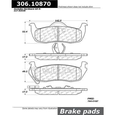 StopTech Brake Rotor 127.38018CR