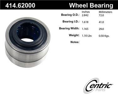Axle Shaft Repair Bearing CE 414.62000E