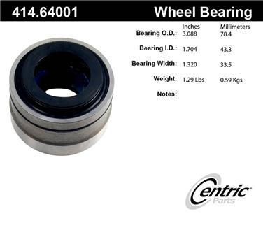 Axle Shaft Repair Bearing CE 414.64001